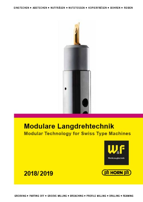 catalog Modular Technology for Swiss Type Machines